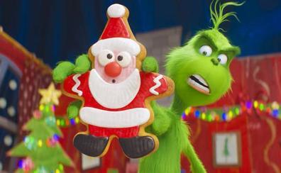 El Grinch quiere robarte la Navidad
