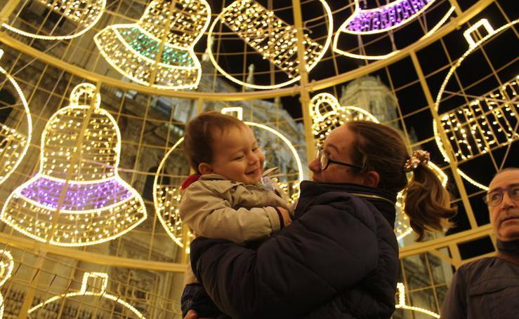 Jaén ya brilla por Navidad