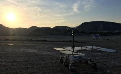 Reino Unido adiestra en el desierto de Tabernas el rover ExoMars para Marte