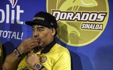Maradona llama «hijo de puta» al presidente de Conmebol por llevar a Madrid la final River-Boca