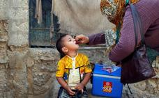 La OMS considera una emergencia internacional la lucha contra la polio