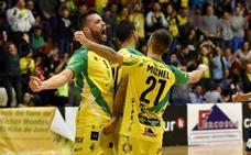 El Jaén Paraíso Interior FS empata contra el Palma Futsal