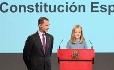 La Princesa de Asturias también acudirá al aniversario de la Constitución