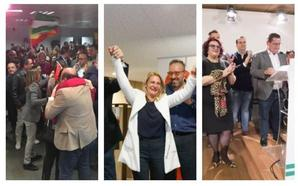 Así ha sido la noche electoral en Granada