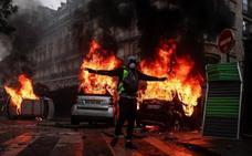 Macron busca una salida a la grave crisis de los 'chalecos amarillos'