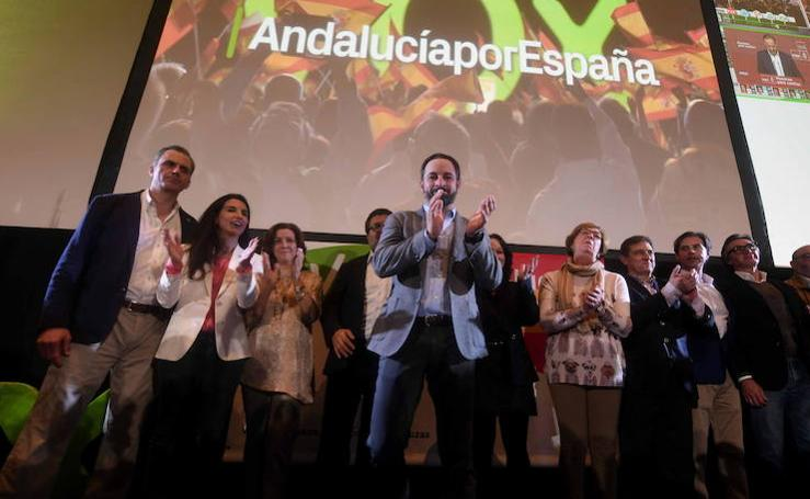Así se vivió la noche electoral del 2D en Andalucía