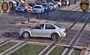 Aviso de la Policía Local de Granada: «Ayudadnos a encontrar a este coche»