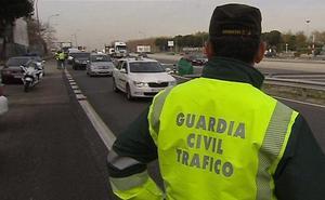 La DGT denuncia a 95 conductores en Jaén en una semana
