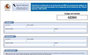 Así es el formulario para pedir a Hacienda la devolución de IRPF por maternidad: guía para completarlo