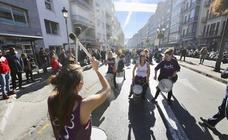 Una marcha reivindica en Granada la visibilidad de personas con discapacidad