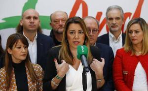 El PSOE abre la puerta a la dimisión de Susana Díaz para facilitar un gobierno sin Vox