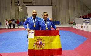 Miguel Ángel Peinado y David Salamanca quedan campeones de Europa