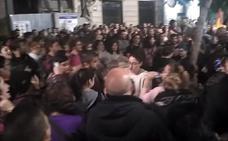 Centenares de personas se concentran en Almería «contra el fascismo»