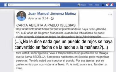 La carta de un andaluz a Pablo Iglesias diciéndole por qué su pueblo ha pasado en horas de «rojo» a «facha»