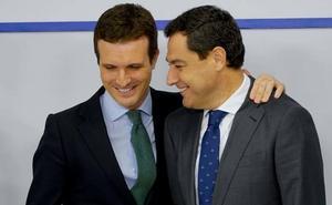 Juanma Moreno pide a Cs que no dinamite y bloquee el cambio en Andalucía