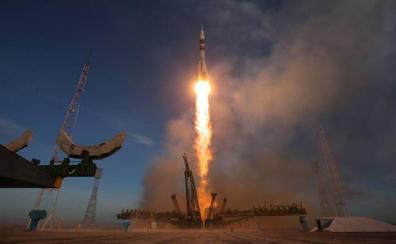 Rusia retoma con éxito los viajes a la Estación Espacial Internacional