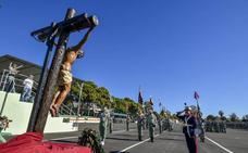 La Artillería de La Legión conmemora la festividad de Santa Bárbara