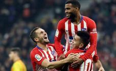 Las mejores imágenes del Atlético-Sant Andreu