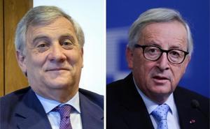Juncker y Tajani felicitan a España por 40 años de Constitución