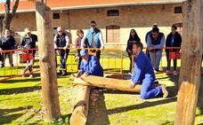 Tradicional exhibición de maderistas