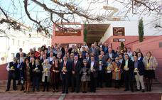 Homenaje a las corporaciones municipales de Quesada desde 1979