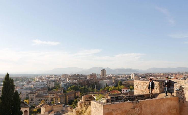 Todas las imágenes del paseo inédito por el interior de las murallas del Albaicín de Granada