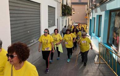 Órgiva celebra la IV Carrera Solidaria de la Mujer con 300 participantes