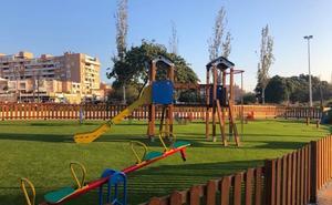 Finaliza la reforma integral de 9.000 metros cuadrados de zona verde en Villablanca