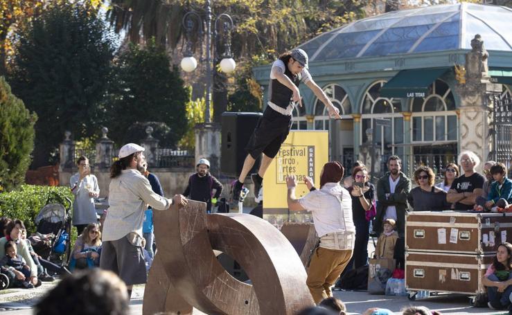 El Festival de Circo y Artes Urbanas, en imágenes