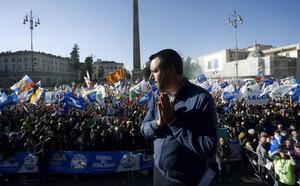 Salvini promete volver a hacer «grande» a Italia