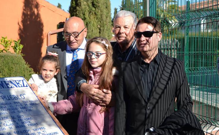 Cájar dedica un parque al compositor de copla, Paco Jiménez