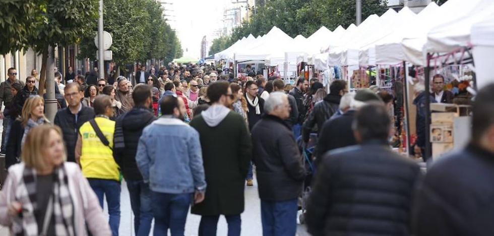 Gran ambiente y múltiples actividades en otro domingo sin coches en el centro de Granada