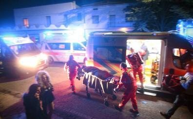 Estables los siete jóvenes muy graves tras la estampida en Italia