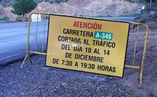 La A-346 que une Órgiva con Vélez de Benaudalla será cortada al tráfico por obras de mejora y refuerzo del firme