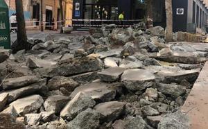 El proyecto de obras de Antonio Vico se 'choca' con parte de la muralla islámica