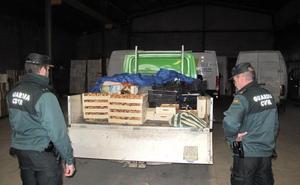 Más de cien detenidos en diez meses por robos a agricultores de Granada