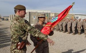 El general Prada Larrea releva al general Cortés Delgado en el mando de la Task Force Besmayah (Irak)