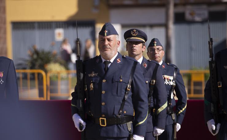 Motril celebra con el Ejército del Aire el día de su patrona, la Virgen de Loreto