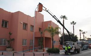 Almuñécar cambia el sistema de iluminación en más de 40 calles