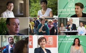 Los 40 cargos del PSOE en Granada que se irán si hay cambio de gobierno en Andalucía