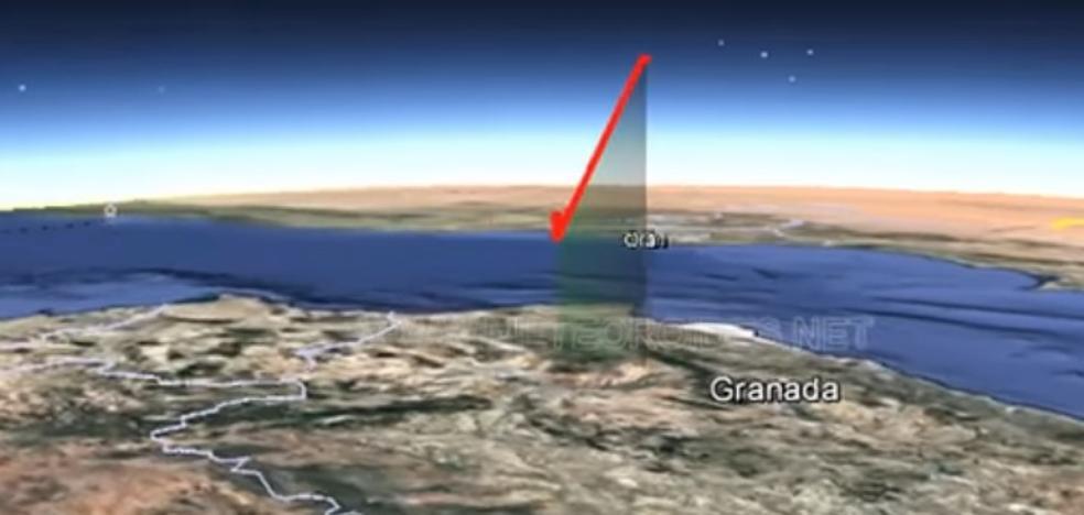 Una bola de fuego atraviesa el cielo de Granada a 86.000 kilómetros por hora