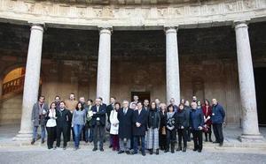 La Alhambra y la Universidad de Granada unifican sus investigaciones vinculadas al monumento
