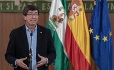 Moreno y Marín expresan su «clara voluntad de acuerdo» para un «Gobierno de cambio» en Andalucía