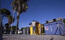 Vecinos de Playa Granada exigen a Costas una solución para el «escalón» antes de este verano