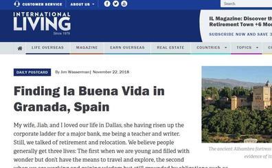 «La buena vida de Granada»: el «retiro soñado» de una pareja contado en una revista de viajes