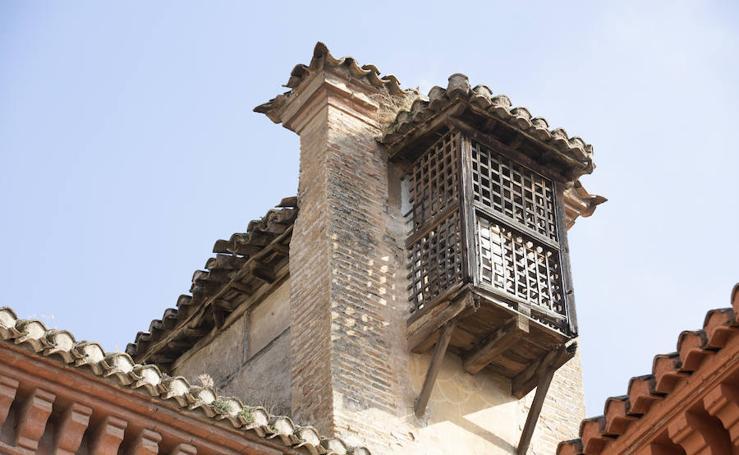El ajimez del convento de Santa Inés, en peligro de derrumbarse