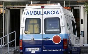 Herido un hombre en Jaén por inhalación de humo procedente del incendio de una tienda
