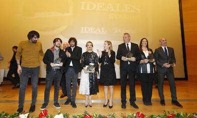 Las mejores imágenes de la entrega de los Premios IDEALES