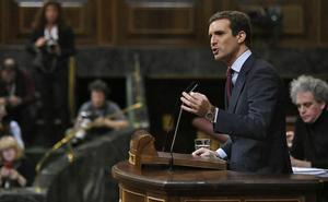Casado denuncia ante sus socios europeos la «inacción» de Sánchez en Cataluña