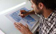 Paco Roca, el dibujante valenciano que mejor pinta a Granada, firma libros hoy